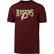 '47 Men's Washington Redskins Splitter Red T-Shirt