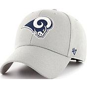 '47 Men's Los Angeles Rams MVP Grey Adjustable Hat