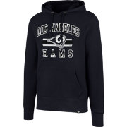 '47 Men's Los Angeles Rams Headline Navy Pullover Hoodie