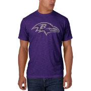 '47 Men's Baltimore Ravens Scrum Logo Purple T-Shirt