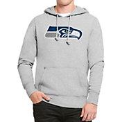 '47 Men's Seattle Seahawks Headline Grey Pullover Hoodie