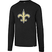 '47 Men's New Orleans Saints Club Black Long Sleeve Shirt