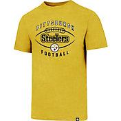 '47 Men's Pittsburgh Steelers Club Football Gold T-Shirt