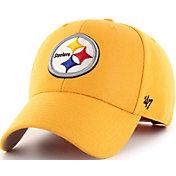 '47 Men's Pittsburgh Steelers MVP Gold Adjustable Hat