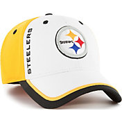 '47 Men's Pittsburgh Steelers Crash Line Gold Flex Fit Hat