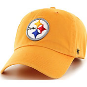 '47 Men's Pittsburgh Steelers Clean Up Gold Adjustable Hat