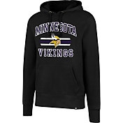 '47 Men's Minnesota Vikings Headline Black Pullover Hoodie