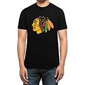 '47 Men's Chicago Blackhawks Club Black T-Shirt