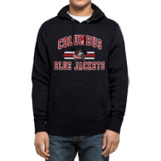 '47 Men's Columbus Blue Jackets Headline Pullover Navy Hoodie