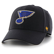 '47 Men's St. Louis Blues MVP Navy Structured Adjustable Hat