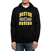 '47 Men's Boston Bruins Headline Pullover Black Hoodie
