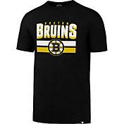 '47 Men's Boston Bruins Logo Black T-Shirt
