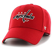 '47 Men's Washington Capitals MVP Red Structured Adjustable Hat