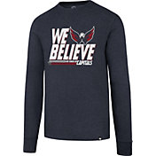 '47 Men's 2017 NHL Stanley Cup Playoffs Washington Capitals Navy Long Sleeve T-Shirt