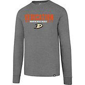 '47 Men's Anaheim Ducks Slogan Club Grey Long SleeveT-Shirt