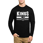 '47 Men's Los Angeles Kings Club Black Long Sleeve T-Shirt
