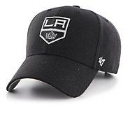 '47 Men's Los Angeles Kings MVP Black Structured Adjustable Hat