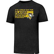 '47 Men's Pittsburgh Penguins Slogan Club Black T-Shirt