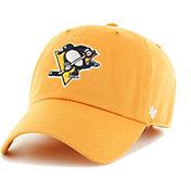 '47 Men's Pittsburgh Penguins Clean Up Gold Adjustable Hat
