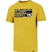 '47 Men's Pittsburgh Penguins Slogan Club Gold T-Shirt