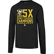 '47 Men's 2017 NHL Stanley Cup Champions Pittsburgh Penguins Long Sleeve Splitter T-Shirt