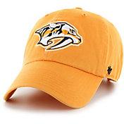 '47 Men's Nashville Predators Clean Up Gold Adjustable Hat