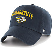'47 Men's Nashville Predators Clean Up Navy Smashville Adjustable Hat