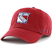'47 Men's New York Rangers Clean Up Red Adjustable Hat