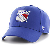 '47 Men's New York Rangers MVP Royal Structured Adjustable Hat