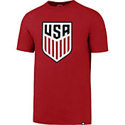 '47 Men's USA Crest Splitter Red T-Shirt
