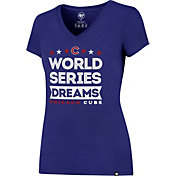 "'47 Women's Chicago Cubs ""World Series Dreams"" Royal V-Neck T-Shirt"