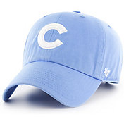 '47 Women's Chicago Cubs Clean Up Light Blue Adjustable Hat
