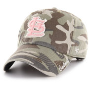 '47 Women's St. Louis Cardinals Tarpoon Miata Camo Clean Up Adjustable Hat