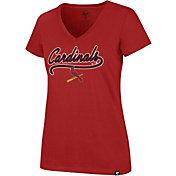 '47 Women's St. Louis Cardinals Ultra Rival V-Neck T-Shirt