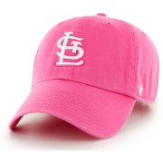 '47 Women's St. Louis Cardinals Clean Up Pink Adjustable Hat