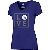 '47 Women's Los Angeles Dodgers Splitter Royal T-Shirt