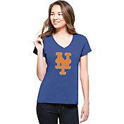'47 Women's New York Mets Royal V-Neck T-Shirt