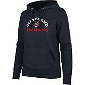 '47 Women's Cleveland Indians Headline Pullover Hoodie