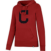'47 Women's Cleveland Indians Red Headline Hoodie