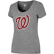 '47 Women's Washington Nationals Grey T-Shirt