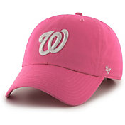 '47 Women's Washington Nationals Clean Up Pink Adjustable Hat