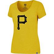'47 Women's Pittsburgh Pirates Gold T-Shirt