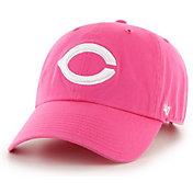 '47 Women's Cincinnati Reds Clean Up Pink Adjustable Hat