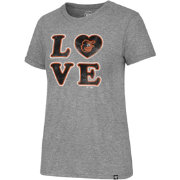 '47 Women's Baltimore Orioles LOVE Tri-Blend T-Shirt