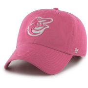 '47 Women's Baltimore Orioles Clean Up Pink Adjustable Hat