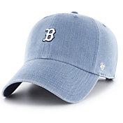'47 Women's Boston Red Sox Burkhart Denim Clean Up Adjustable Hat