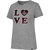 '47 Women's Boston Red Sox LOVE Tri-Blend T-Shirt