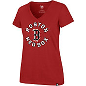 '47 Women's Boston Red Sox Ultra Rival V-Neck T-Shirt