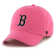 '47 Women's Boston Red Sox Clean Up Pink Adjustable Hat