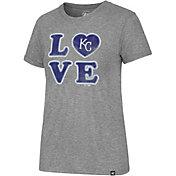 '47 Women's Kansas City Royals LOVE Tri-Blend T-Shirt